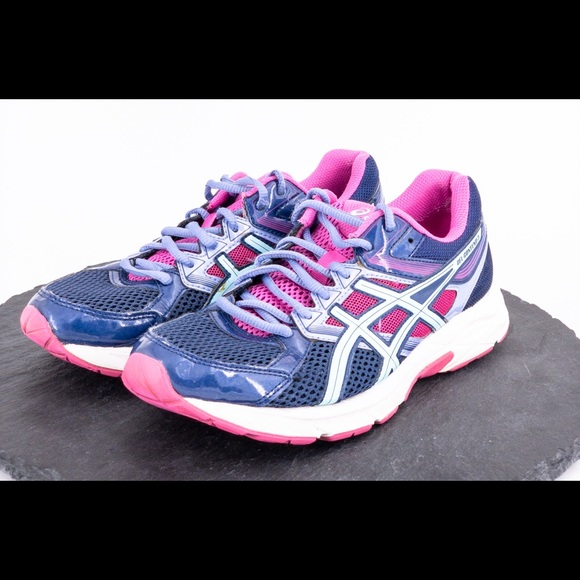 ASICS GEL CONTEND 3 WOMENS ATHLETIC SHOES SIZE 10